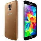 "Samsung Galaxy S5 4G LTE SM-G900A 16GB 5.1"" Smartphone (Unlocked,Gold) 2GB RAM"