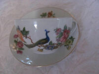 Czechoslavakia D F Peacock Multi-color Floral - Cup & Saucer(s)-5 Avail