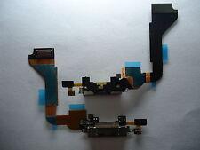 FLAT FLEX CONNETTORE DI RICARICA PER IPHONE 4 DOCK USB CON MICROFONO NERO