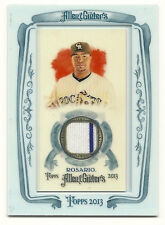 WILIN ROSARIO 2013 TOPPS ALLEN & GINTER GAME USED PINSTRIPE JERSEY