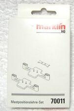 Marklin 70011 Bovenleidingsmastenpositioneringsset. Volledig nieuw in verpakking