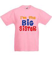 I'm the BIG sister- Funny, Kids, Girls T-Shirts-KG102