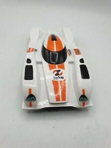 Scalextric car Le Mans Endurance Racer White/Orange NO17 Team LMP No Spoiler