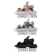 Sandalia Correa para mujer Nike Wmns Canyon Estilo De Vida Zapatos Negro Plata Bronce Pick 1
