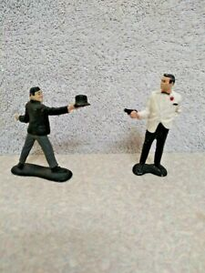 James Bond 007 And Odd Job Figures By Gilbert