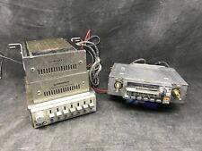 Lot Pioneer vintage autoradio KEX-23SDK + equaliser CD-5 +2 ampli GM-40