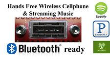 49-67 Volkswagen Bus AM FM Bluetooth New Stereo Radio iPod USB Aux in, 300 watts