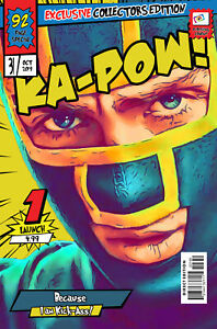 Dave Lizewski (Kick-Ass) Comic Book Covers Art Print (Available In 4 Formats)
