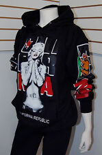 Women's Marilyn Monroe Cali Pullover Hoodie Sweater,California Republic Sz M