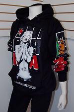 Women's Marilyn Monroe Cali Pullover Hoodie Sweater,California Republic Sz M