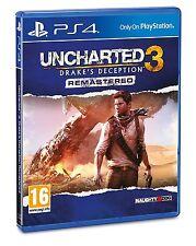 Uncharted 3: Drake's Deception Remastered - Playstation 4 (PS4) - UK/PAL