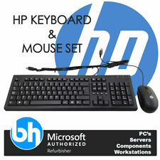 HP Wired Standard Computer Keyboard & Mouse Bundles