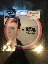 """David Bowie - Heroes 40th Anniversary Picture Disc 7"""""""