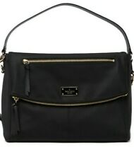 Kate Spade New York Lyndon Wilson Road Calista Black Shoulder Handbag        NEW