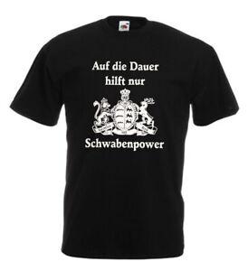 """Baden Württemberg """"Schwabenpower"""" schwäbisches Shirt"""