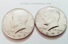 1974 P & D Kennedy Half Dollar Set (2 coins)  **FREE SHHPPING**