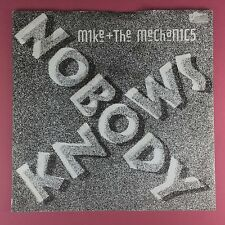 MIKE & THE MECHANICS - Nobody Knows / Why Me - WEA u7602 ex-condition