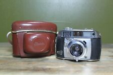 Vintage Balda 1B 35mm Film Camera, Baldanar 1:2.8/45 Balda-werk Bunde & Case