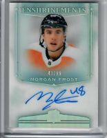2019-20 UD THE CUP MORGAN FROST ENSHRINEMENTS 43 OF 99 FLYERS RC