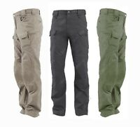 TACTICAL PANTS MENS MILITARY POLICE SECURITY COMBAT TROUSERS 3 COLORS