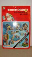 Vintage Whitman Santa'S Helper Gingerbread Village