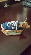 """New ListingCow Parade # 9125 """"MooShoe"""" Retired Converse Shoe Cowboys Very Nice Condition"""
