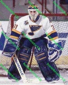 Curtis Joseph ST LOUIS BLUES 11x14 color PHOTO hockey #CJ1lZn4VR9