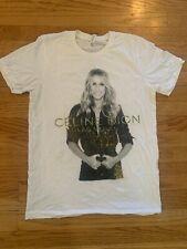 Celine Dion The Coliseum Las Vegas Shirt Size Medium Band Tee