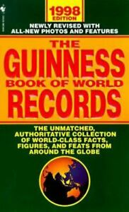 The Guinness Book of World Records 1998 (Guinness Book of Records, 1998) by You