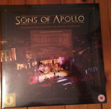 Sons of Apollo - Live With The Plovdiv Psychotic Symphony 3CD+DVD+Blu-ray neu