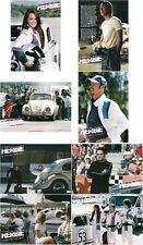 Herbie Fully Loaded Satz komplett 8 Aushangfotos LC set VW Käfer Lindsay Lohan