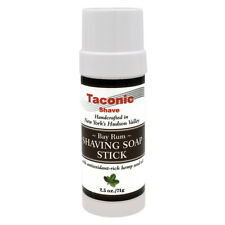 Taconic Shave  Bay Rum Soap Stick Handcrafted Shaving Soap - Made in USA