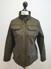 UNISEX KIDS BARBOUR GREEN QUILTED UTILITY POLAR QUILT COAT AGE 12-13 YEARS