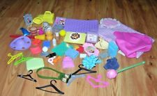 LARGE LOT BARBIE DOLL HOUSE  ACCESSORIES PICTURES BLANKETS & MUCH MORE