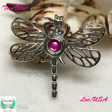 Forever Dragonfly - Pearl Cage Pendant -  Fun Gift!!!