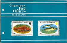Guernsey 1985 Fish Of The Baliwick MNH Presentation Pack #C40459