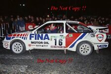 MARC DUEZ FORD SIERRA RS COSWORTH Portugal Rally 1990 photo Graph 1