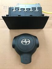 2005-2006 SCION xB DRIVER STEERING WHEEL AND PASSANGER AIRBAG SET