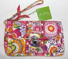 VERA BRADLEY PUSHLOCK WRISTLET PURSE - CLEMENTINE  -  NEW WITH TAG