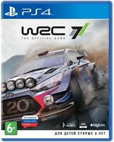 *NEW* WRC 7 (PS4, 2017) English,Russian,German,Italian,French,Spanish,Chinese