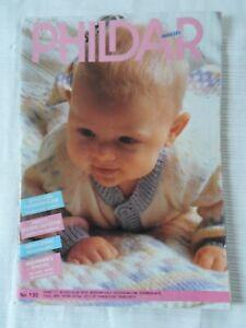 Phildar Layette  Knitting Pattern Booklet No. 130 Free P & P
