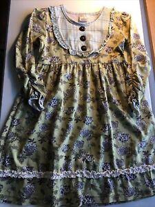 Matilda Jane Friends Forever Teresa Lap Dress Size 8