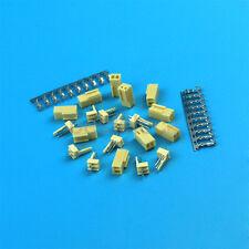 10sets KF2510 2Pin 2.54mm Kits Male Pin Header + Terminal + Female Connector