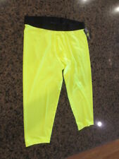 Athletic Works Mens Med Compression 3/4 Pants Running Gym Workout Active Spandex