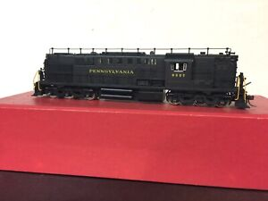 HO Brass Key Imports Pennsylvania RDS7 (DL600a) Road Switcher Factory Finish