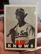 Michael Jordan Air knows  Baseball Promo Card mint