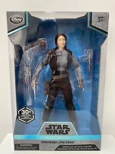 """ROGUE ONE A STAR WARS STORY - SERGEANT JYN ERSO ELITE SERIES 10"""" ACTION FIGURE"""