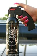 Police Magnum pepper spray 16 oz Pistol Grip Fogger Defense Security Protection