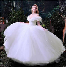 Gorgeous Princess Cinderella Fairy Tale Wedding Dresses Puffy Bridal Ball Gowns