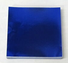 Dark Blue Candy Foil Wrappers Confectionery Foil 125 count